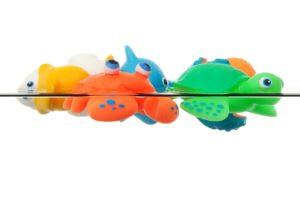 zabawki w wodzie