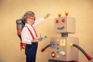 dziecięcy robot