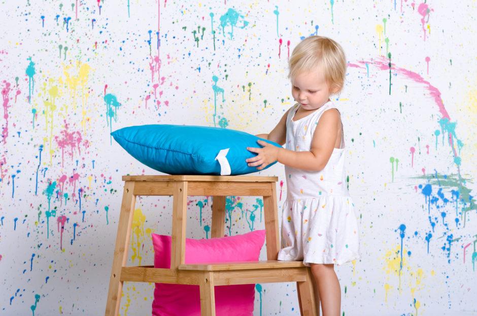 dziecko i kolory