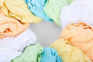 pranie ubranek maluchów